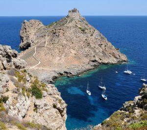 Isola di Favignana. Scorcio panoramico